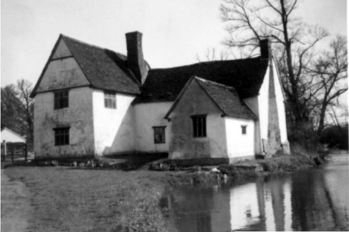 Willie Lott's cottage at Flatford Mill