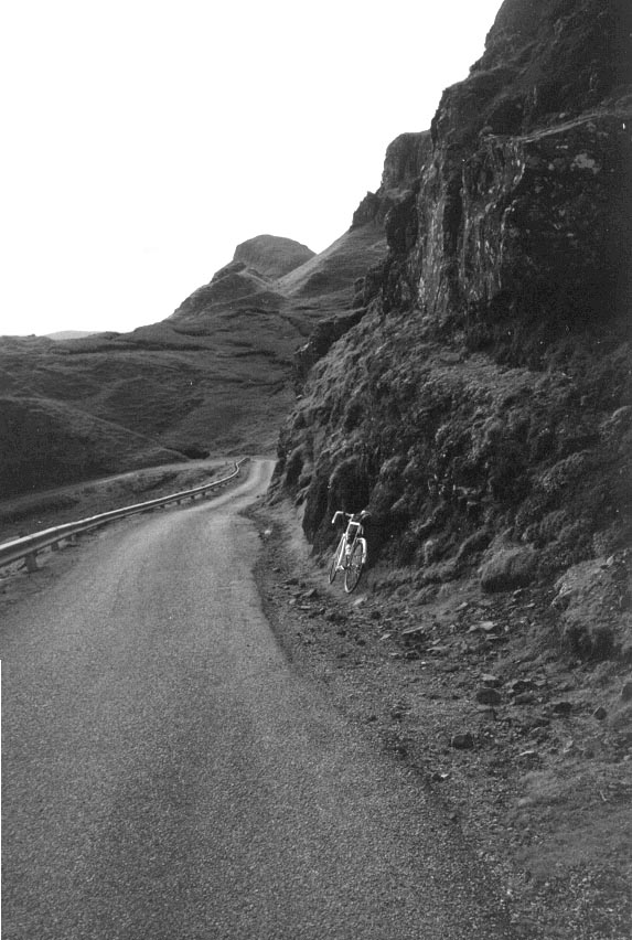 The road over the Quiraing, 1994 (road improvements!)